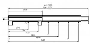 telescopic jib diagram