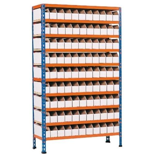 Cardboard Bin Storage Bay 90 Bins