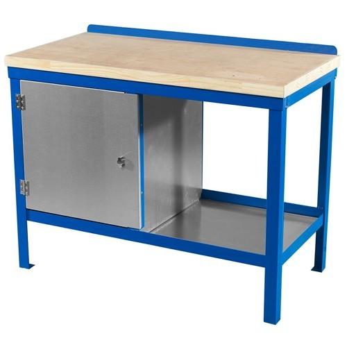 engineer workbench with wood worktop