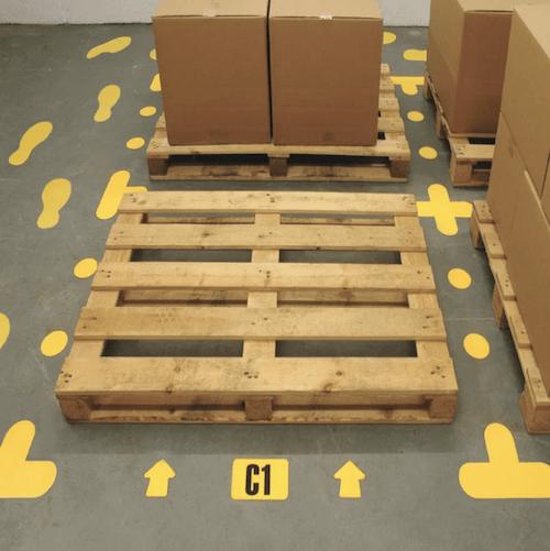 floor markers