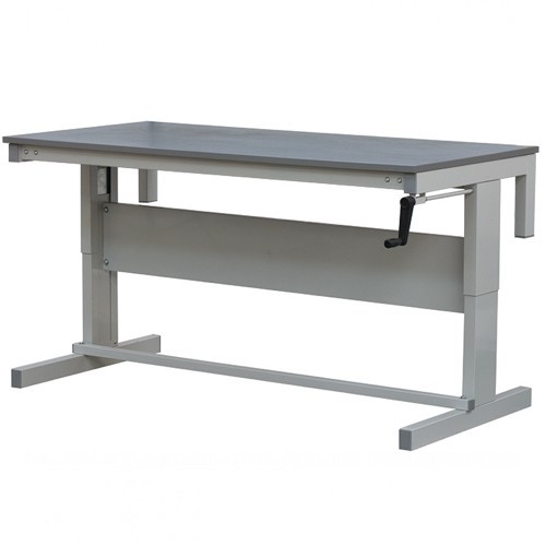 height adjustable ESD workbench